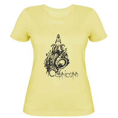 Купити Жіноча футболка Capricorn (Козеріг)