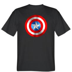 Футболка Captain America 3D Shield