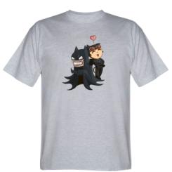 Футболка Catwoman and Angry Batman