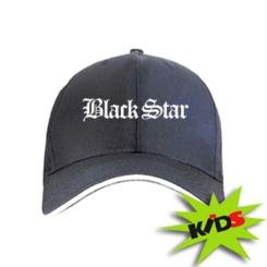 Дитяча кепка Чорна зірка