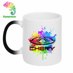 Кружка-хамелеон Chery Art
