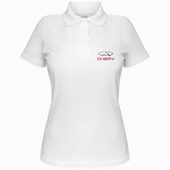 Купити Жіноча футболка поло Chery Logo