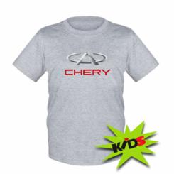 Купити Дитяча футболка Chery Logo