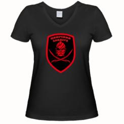 Купити Жіноча футболка з V-подібним вирізом Цинічний Бандера