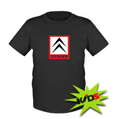 Купити Дитяча футболка Citroen