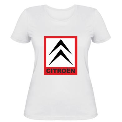 Купити Жіноча футболка Citroen
