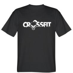 Футболка CrossFit череп