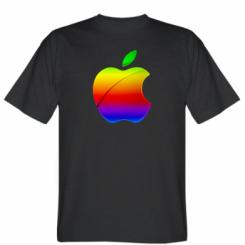 Футболка Цветное яблоко
