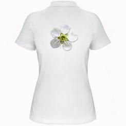 Жіноча футболка поло Квіточка