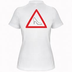 Купити Жіноча футболка поло Дама за кермом