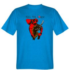 Футболка Deadpool Feel the love!