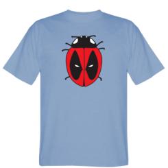 Футболка Deadpool-ladybug