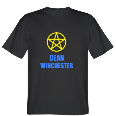 Футболка Dean Winchester Supernatural