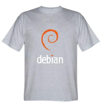 Футболка Debian