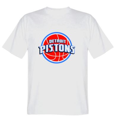 Футболка Detroit Pistons Logo