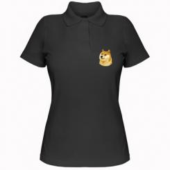 Жіноча футболка поло Doge