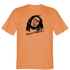 Футболка don't Worry (Bob Marley)