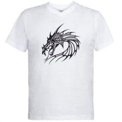 Купити Чоловічі футболки з V-подібним вирізом Dragon