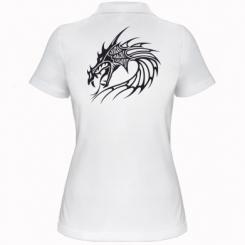 Купити Жіноча футболка поло Dragon