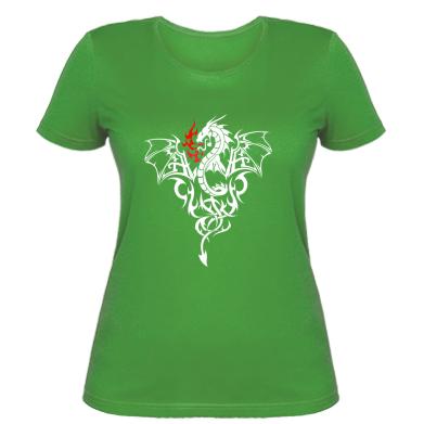 Купити Жіноча футболка Дракон