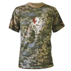 Купити Камуфляжна футболка Дракон