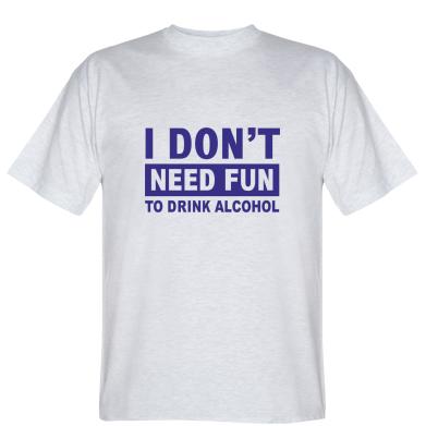 Футболка Drink alcohol