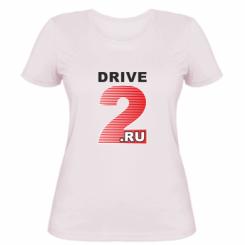 Купити Жіноча футболка Drive2.ru