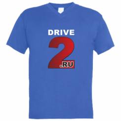 Купити Чоловіча футболка з V-подібним вирізом Drive2.ru