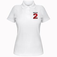 Купити Жіноча футболка поло Drive2.ru
