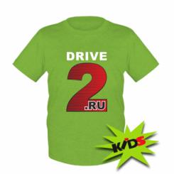 Купити Дитяча футболка Drive2.ru