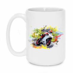 Кружка 420ml Ducati Art