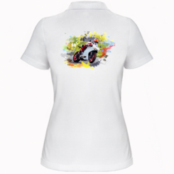 Жіноча футболка поло Ducati Art