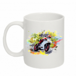 Кружка 320ml Ducati Art
