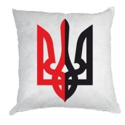 Купити Подушка Двокольоровий герб України