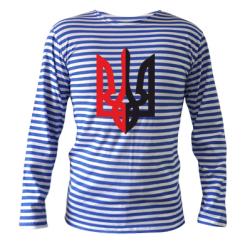 Купити Тільняшка з довгим рукавом Двокольоровий герб України