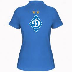 Купити Жіноча футболка поло Dynamo Kiev