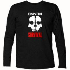 Купити Футболка з довгим рукавом Eminem Survival