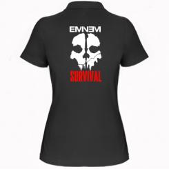 Купити Жіноча футболка поло Eminem Survival