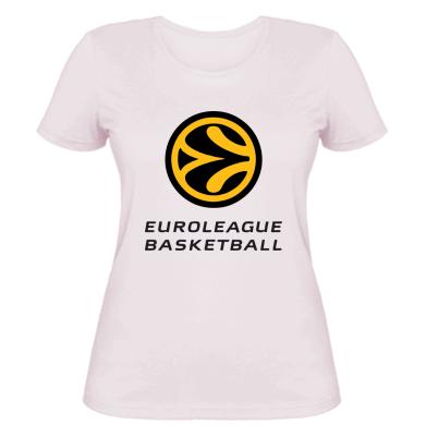 Жіноча футболка Euroleague Basketball