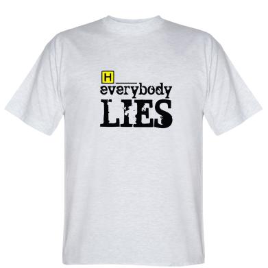 Футболка Everybody LIES House