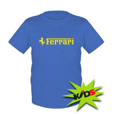 Купити Дитяча футболка Ferrari