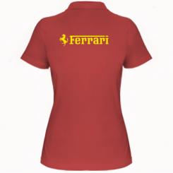 Купити Жіноча футболка поло Ferrari