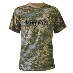 Купити Камуфляжна футболка Ferrari
