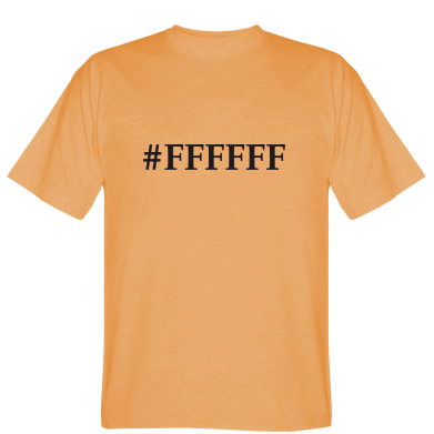 Футболка FFFFFF