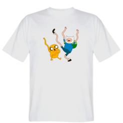 Футболка Фін і Джейк танцюють