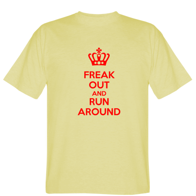 Футболка FREAK OUT AND RUN AROUND