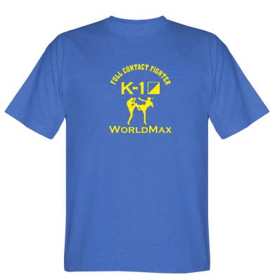Футболка Full contact fighter K-1 Worldmax