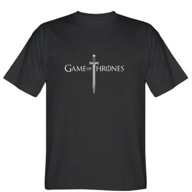 Футболка Game Of Thrones меч
