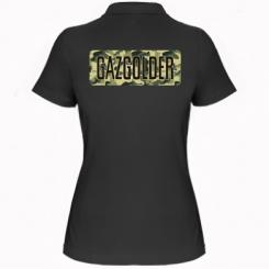 Жіноча футболка поло Газгольдер Хаки