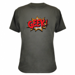 Камуфляжна футболка Geek Booom
